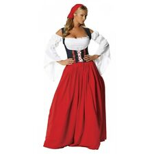 German Beer Girl Costume Adult Beer Garden Wench Oktoberfest Fancy Dress