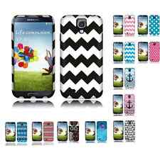 Two Piece Hard Snap on Design Protective Cover Case for Samsung Galaxy S4