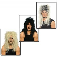 Hard Rocker Wig Costume Accessory Adult Mens Halloween