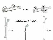 Grohe Grohtherm Set: Bath Or Shower Thermostat With Shower Set