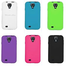Samsung Galaxy S4 S 4 IV Rubber Case Soft Gel Phone Cover Silicone Skin Ma