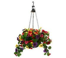 Bethlehem Lights Pansy Basket w/Illuminating Accent Light NEW H198927 OR H201247