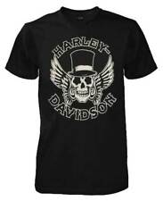 Harley-Davidson Men's Way of Life Skull Short Sleeve T-Shirt Black 30298308