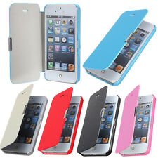 Slim Flip Housse Coque Etui Cuir PU Leather Aimant Case Pochette Pr MobilePhone