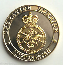 Limited Edition Operation Herrick Afghanistan Collectors Military Coin