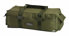 New Rothco 8137 Heavyweight Cotton Canvas Waterproof Bottom Israeli Type Duffle