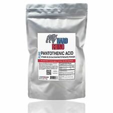 Pantothenic Acid Vitamin B5 Pure Bulk Powder Supplements Multiple Size Available
