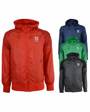 New Mens Crosshatch Summer Windbreaker Jacket Coat Fabion
