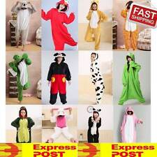 KIGURUMI ADULT COSPLAY COSTUME PAJAMAS FLEECE ONESIES UNISEX ANIMAL SLEEP WEAR