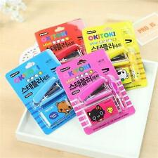 1X Lovely Korea Creative Stationery Cute mini Stapler staples Office supplies