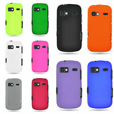 For LG Rumor Reflex / Xpression / Freedom - Hard Rubber Shell Phone Cover Case