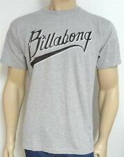Billabong Pennant Tee Mens Recycler Organic Cotton Heather Gray T-Shirt NEW NWT