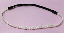 Women's bride Imitation Pearl Elegance Fashion Stretch Headband Romantic