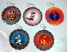 "Disney 6"" Wind Spinners Mickey Minnie Mouse Donald Pluto Goofy EYCatcher CHOOSE"