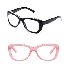 New Women Reading Glasses with Pearls Beads Fashion Frame Various Strengths