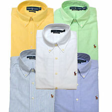 Polo Ralph Lauren Oxford Dress Shirt Mens Classic Fit Button Down Collar Nwt