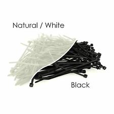 Nylon Plastic Cable Ties Long and Wide Extra Large Zip Ties Black and White wrap