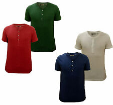 RRP £25 Brave Soul Mens 2 Pack T-Shirt -Blue/White OR Red/Green Size S-XL Primeb