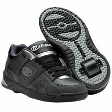 Heelys Sport - Children's Roller Skate Shoes With Rollers 7873 (black Gray)