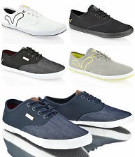 MENS BOYS VOI JEANS FIERY LOW TOP CANVAS PLIMSOLES PLIMSOLLS TRAINERS SHOES SIZE