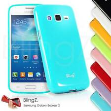 Colorful Silicone Gel TPU Rubber Case Cover for Samsung Galaxy Express 2 G3815