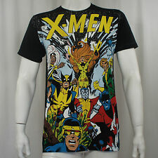 Authentic MARVEL COMICS X-Men The Gang All Characters Slim Fit T-Shirt S-2XL NEW