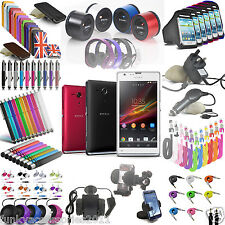 Funky Accessories Cases & Gadgets for Sony Xperia SP m35h c5302 c5303 c5306