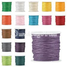 1 Roll 80M Waxed Cotton Macrame Cord Thread Rope Wire String Findings Wholesale
