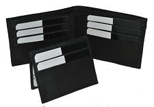 WALLET MENS BIFOLD REMOVABLE FLAP NEW GENUINE LEATHER GREAT GIFT IDEA