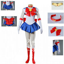 Sailor Moon Cosplay Costume Uniform Fancy Dress Sailormoon Customized XXS-XXXL