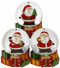 Waterball - SANTA CHRISTMAS PARCELS WATER BALL SNOW GLOBE - Choice of Designs