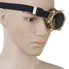 Steampunk Goth Punk Goggles Cyclops Monovision Glasses Cosplay Party Prop U PICK