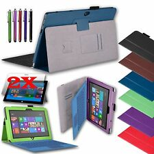 Case Cover For Microsoft Surface Pro Surface Pro2 10.6 Tablet Accessories Bundle