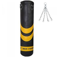 HTH Punch Bags 4ft 5ft Heavy Duty Punching Boxing Kick Punchbags Karate MMA