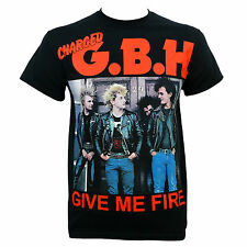 Authentic CHARGED GBH G.B.H. Give Me Fire T-Shirt S M L XL XXL NEW Punk