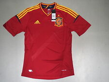 Jersey Spain Home 11/12 Adidas Gr S M L Xl Xxl New Spain Euro 2012