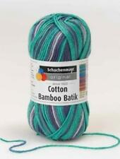 SMC Cotton Bamboo Batik Multicolor-Garn 50g ** Free On Extra-Bälle **