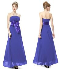 New Lady Long Chiffon Prom Gown Evening/Formal/Party/Cocktail/Prom Dress