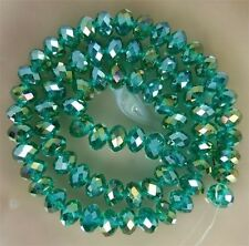 Wholesale 21 colors 3x4mm Crystal Faceted Roundel Loose Beads Gems 1000pcs C01