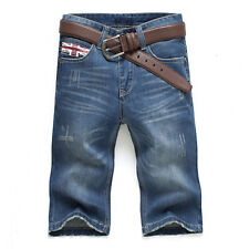 Fashion Stylish 2014 Jeans Summer Big Size Men's Shorts Jeans Pants 28-38 MKN165