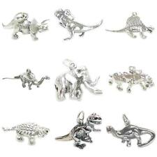 Dinosaurs sterling silver charms .925 x1 Dinosaur charms