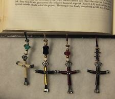 Horseshoe Nail Cross Bible Bookmark/**HAND-CRAFTED & UNIQUE**$$$PRICE REDUCED$$$