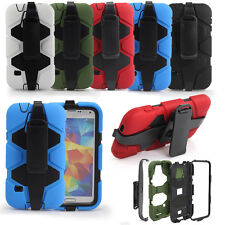 SK Shockproof Waterproof Survivor Military  Case Cover For Samsung GalaxyS5 UK 2