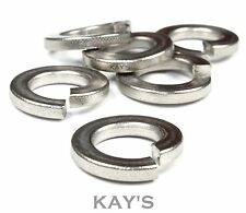 A2 STAINLESS STEEL SQUARE SECTION SPRING LOCK WASHERS