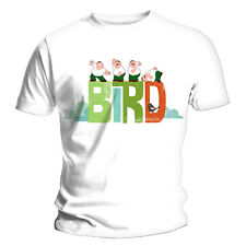 Family Guy Peter Griffin Bird is the Word OFFICIALWhite T-Shirt to 2XL