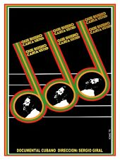 4920.Que bueno canto ousted.documental cubano.POSTER.decor Home Office art