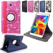 "For Samsung Galaxy Tab 4 7"" inch T230 360 Degree Rotating Flip Folio Stand Case"