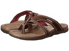 NORTHSIDE MADISON Womens Brown/Pink Sandals Flip Flops Fashion Thongs Shoes