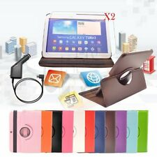 Rotating Cover PU Leather Stand Case for Samsung Galaxy Tab 3 10.1 inch Tablet