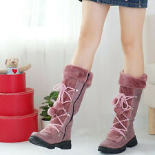 Womens girls personality affordable Winter Fashion Warm For Snow Boots hot  US